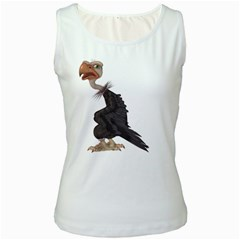 Vulture 1 Womens  Tank Top (white) by gatterwe