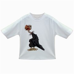 Vulture 1 Baby T Shirt by gatterwe