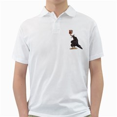 Vulture 1 Mens  Polo Shirt (white) by gatterwe