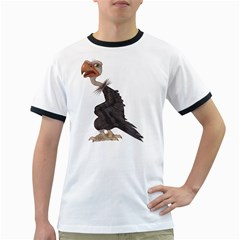 Vulture 1 Mens' Ringer T Shirt by gatterwe
