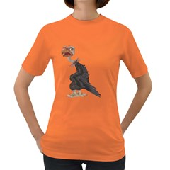Vulture 1 Womens' T Shirt (colored) by gatterwe