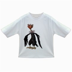 Vulture 2 Baby T Shirt by gatterwe