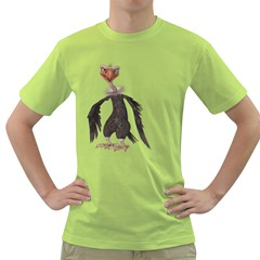 Vulture 2 Mens  T Shirt (green) by gatterwe