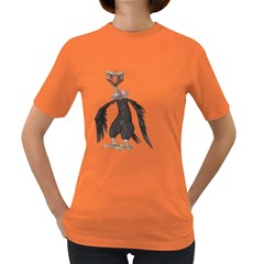 Vulture 2 Womens' T Shirt (colored) by gatterwe