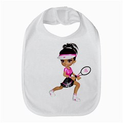 Tennis Girl 1 Bib