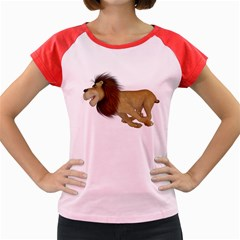 Lion 2 Women s Cap Sleeve T Shirt (colored) by gatterwe
