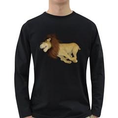 Lion 2 Mens' Long Sleeve T Shirt (dark Colored)