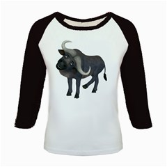Buffalo 1 Women s Long Cap Sleeve T Shirt by gatterwe