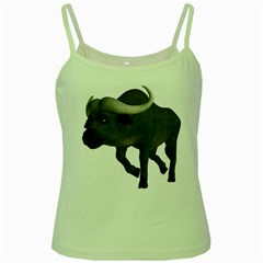 Buffalo 3 Green Spaghetti Tank by gatterwe