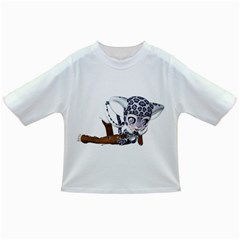 Native Snow Leopard 2 Baby T Shirt by gatterwe