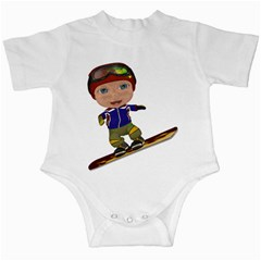 Snowboarder 1 Infant Creeper by gatterwe