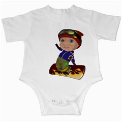 Snowboarder 2 Infant Creeper by gatterwe