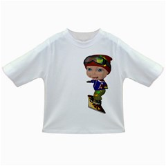 Snowboarder 3 Baby T Shirt by gatterwe