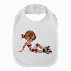 Skater Girl 1 Bib by gatterwe