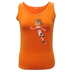 Skater Girl 3 Womens  Tank Top (dark Colored)