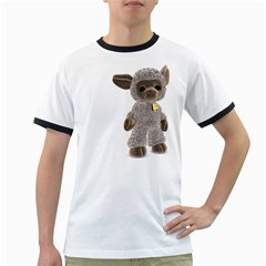 Lamb 2 Mens' Ringer T Shirt by gatterwe