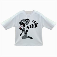 Anime Raccoon 2 Baby T Shirt by gatterwe