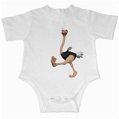 Ostrich 1 Infant Creeper by gatterwe