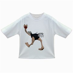 Ostrich 4 Baby T Shirt by gatterwe