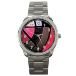 pink metal watch - Sport Metal Watch