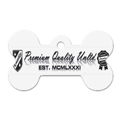 Banner Dog Tag Bone (two Sided)