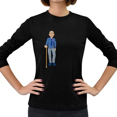 Grandpa 2 Womens' Long Sleeve T Shirt (dark Colored)