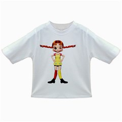 Naughty Girl 2 Baby T Shirt by gatterwe