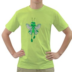 Fly 3 Mens  T Shirt (green) by gatterwe