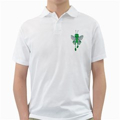 Fly 3 Mens  Polo Shirt (white) by gatterwe
