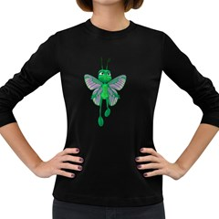 Fly 3 Womens' Long Sleeve T Shirt (dark Colored) by gatterwe