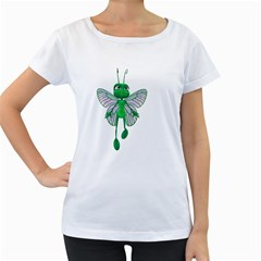 Fly 3 Womens' Maternity T Shirt (white) by gatterwe