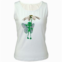 Fly 4 Womens  Tank Top (white) by gatterwe