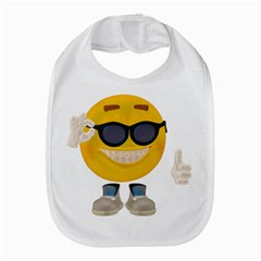 Holiday Smiley Bib by gatterwe
