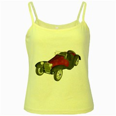 Old Timer Yellow Spaghetti Tank by gatterwe