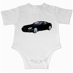 Black Sport Car Infant Creeper by gatterwe