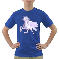 Purple Pegasus Mens' T Shirt (colored) by gatterwe