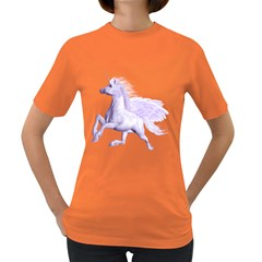Purple Pegasus Womens' T Shirt (colored) by gatterwe