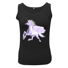 Purple Pegasus Womens  Tank Top (black) by gatterwe