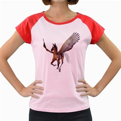 Flying Pony 2 Women s Cap Sleeve T Shirt (colored) by gatterwe
