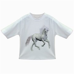 White Unicorn 3 Baby T Shirt