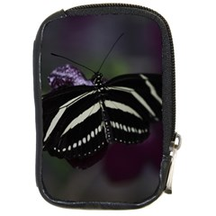 Butterfly 059 001 Compact Camera Leather Case by pictureperfectphotography