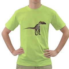Utahraptor 2 Mens  T Shirt (green) by gatterwe