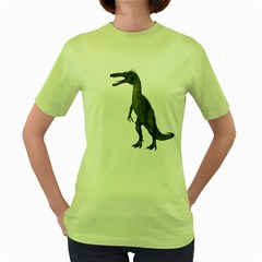 Suchomimus 2 Womens  T Shirt (green)