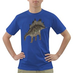 Stegosaurus 1 Mens' T Shirt (colored) by gatterwe