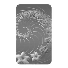 Gray Abstract Flowers Memory Card Reader (Rectangular) by BestCustomGiftsForYou