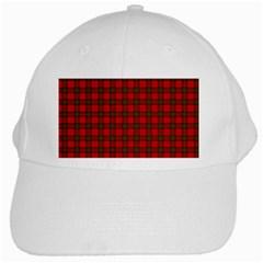 The Clan Steward Tartan White Baseball Cap