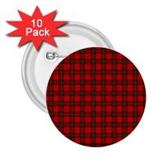 The Clan Steward Tartan 2 25  Button (10 Pack) by BestCustomGiftsForYou