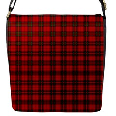 The Clan Steward Tartan Flap Closure Messenger Bag (small) by BestCustomGiftsForYou