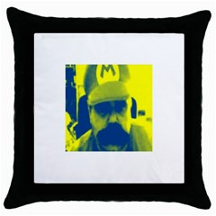 600 By 600 Image Black Throw Pillow Case