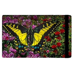 Butterfly And The Rose s Apple Ipad 3/4 Flip Case by designsbyvee